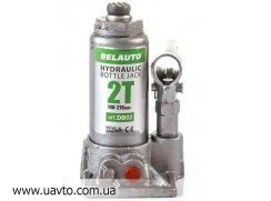 Домкрат гидравлический БЕЛАВТО  DB02 бутылочный, 2т
