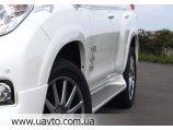 Расширители колесных арок Toyota LC Prado