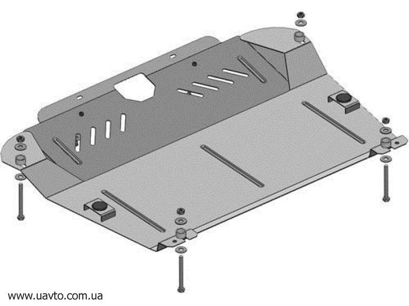 Защита двигателя Кольчуга  Toyota Highlander 2011-2013 (2.0386.00)