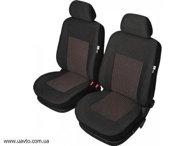 Универсальные чехлы для передних сидений Kegel-Blazusiak  Perun Super Air Bag Lux front L (чёрные)