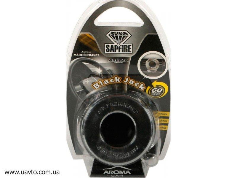 Освежитель воздуха Sapfire  Aroma Car Disc 10 г 920116 (блек джек)