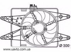 Вентилятор радиатора POLCAR