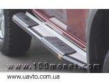 2005- силовые Пороги Toyota Hilux