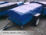 Прицеп для легкового автомобиля- ПГМФ-8302.  Реальные честные цены.  Рессора волгa или AL-KO, борта усиленные...