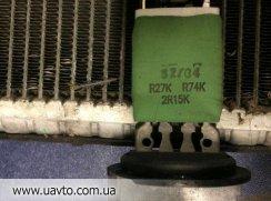 Б/у резистор печки