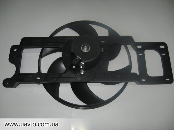 Вентилятор охлаждения Дача Логан АС 2008 запчасти Dacia Logan