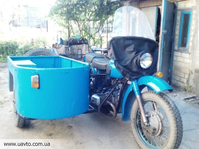 Мотоцикл Днепр 11