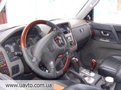 Салон, сидіння, панелі, AIRBAG  Mitsubishi Pajero