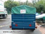 Прицеп Завод прицепов Лев прицеп Лев-250*1.4 двухосный на кат.В