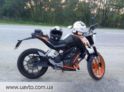 Мотоцикл KTM duke 200