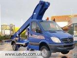 Автовышка MERCEDES Teupen T- 24.4 m
