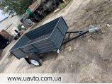 Легковий причіп Дніпро 200х130х50 нова модель!