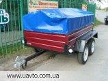 Прицеп Завод прицепов Лев прицеп Лев-210 двухосный  по украинской цене от завода