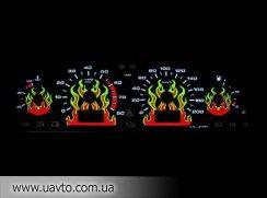 Панель приборов Польша Вставки в щиток приборов для Lada 2110