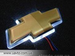 Подсветка значка  на Chevrolet