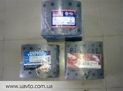 Тормозные накладки на DAF