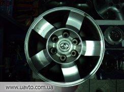 Диски   на Toyota Prado
