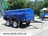 Прицеп Завод прицепов Лев купить двухосный прицеп Лев-250*1.4 по оптовой цене от завода