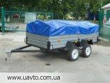 Прицеп Завод прицепов Лев прицеп Лев-300*1.4 двухосный от завода