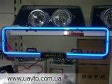 Номерная рамка LED