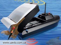 Радиоуправляемая лодка для рыбалки JABO-2BS (с эхолотом)