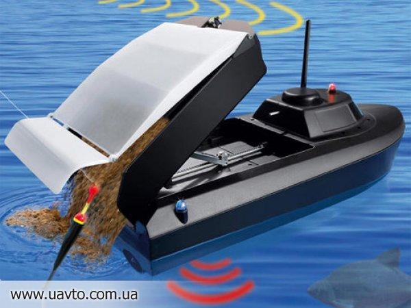 купить радиоуправляемый катер с эхолотом для рыбалки