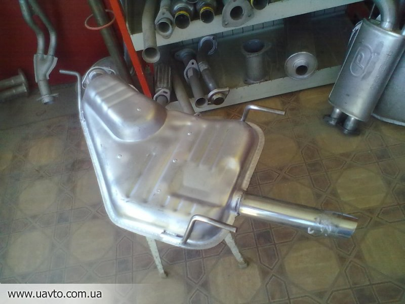 Глушители Opel Vectra E-1,2-1,4i хетч.(84-91 глушитель+ катализатор