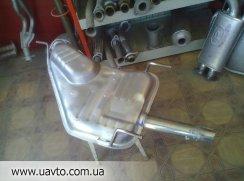 Глушители Opel Vectra A-2,6-3,0i ун.(86-94гг глушитель+ катализатор