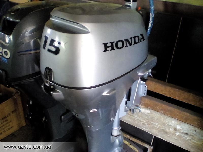 лодочный мотор хонда в хабаровске