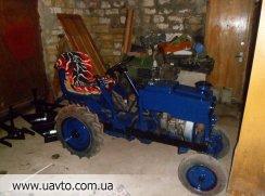 Трактор самодел уаз