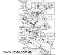 Сальник Оригинал MAZDA A601-27-238