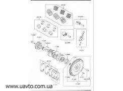 Сальник Оригинал MAZDA LF01-11-310