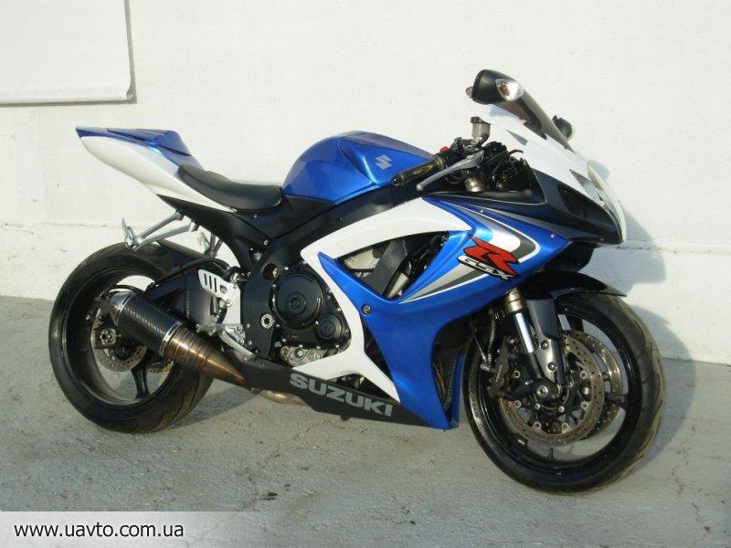 Мотоцикл Suzuki  GSX-R 600