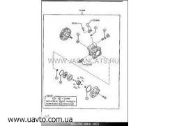Ремкомплект Оригинал MAZDA B25D-32-610