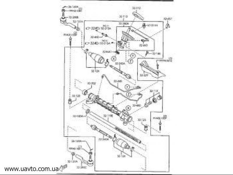 Ремкомплект Оригина MAZDA BP4L-32-11X
