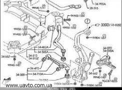 Тяжка Оригинал MAZDA GJ6A-34-150