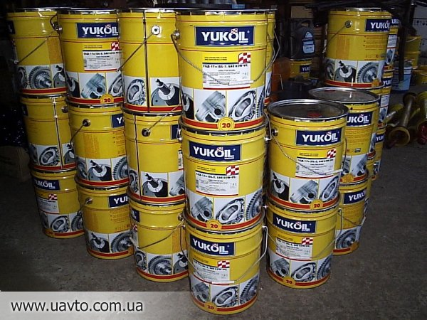 Масло масла YUKOIL для авто и сельхозтехники