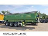 BODEX SAF 30 м3 HARDOX новий кузов, нова рама, шини 100%