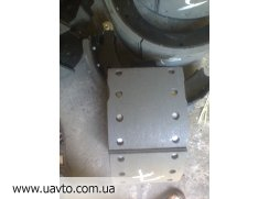 6505-3502090 колодка  КРАЗ