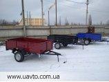 Прицеп усиленный  Д-210х130х50 на рессорах Волга