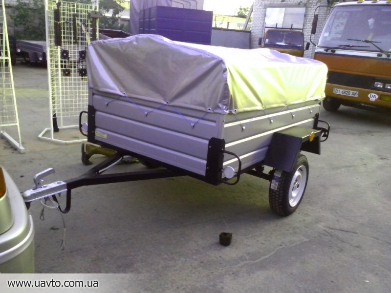 Прицеп для легкового автомобиля в ашане