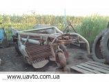 Копалка польське виробництво приципна , двохтранспортерна