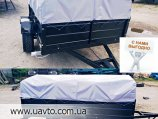 Прицеп легковой  Днепр-170 на рессорах АлКо
