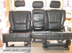 Салон кожаный Mercedes Benz ML  сиденья 2-й ряд