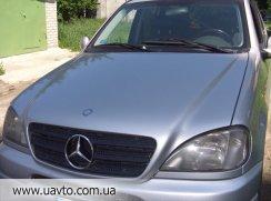 Запчасти Mercedes Benz ML  капот, крылья, двери МЛ 163