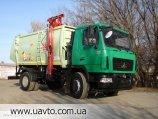 Мусоровоз Сміттєвоз з боковим завантаженням АТ-2042 на базе шасси МАЗ-5340С2