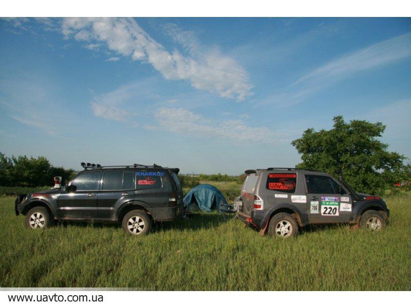 Разборка Ралли-Рейд Rally Raid Pajero