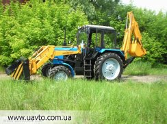 Экскаватор Борекс-2201  база трактор МТЗ-82.1