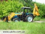 Борекс-2201  база трактор МТЗ-82.1