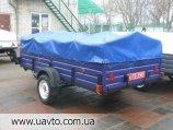 Прицеп Завод прицепов Лев прицеп Лев-300*1.6 одноосный   с завода